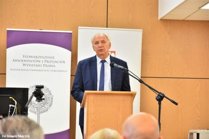 Prof. dr hab. Cezary Sławiński , czł. koresp. PAN, prezes Oddziału PAN w Lublinie